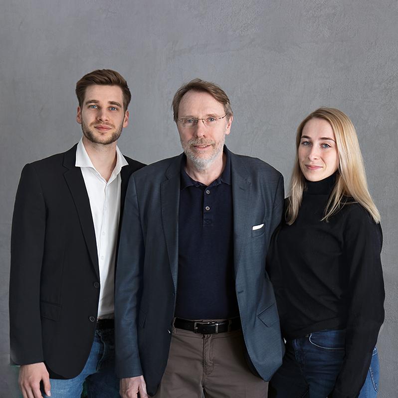 Hubert Arnoldi, Carl-Philip Arnoldi & Isaline Arnoldi